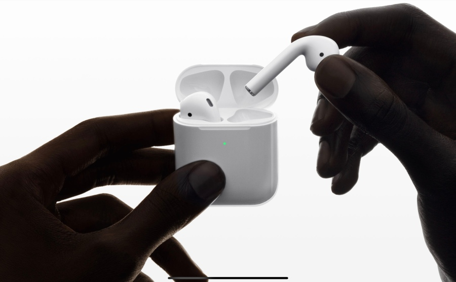 Double tap to… (Airpods 2)